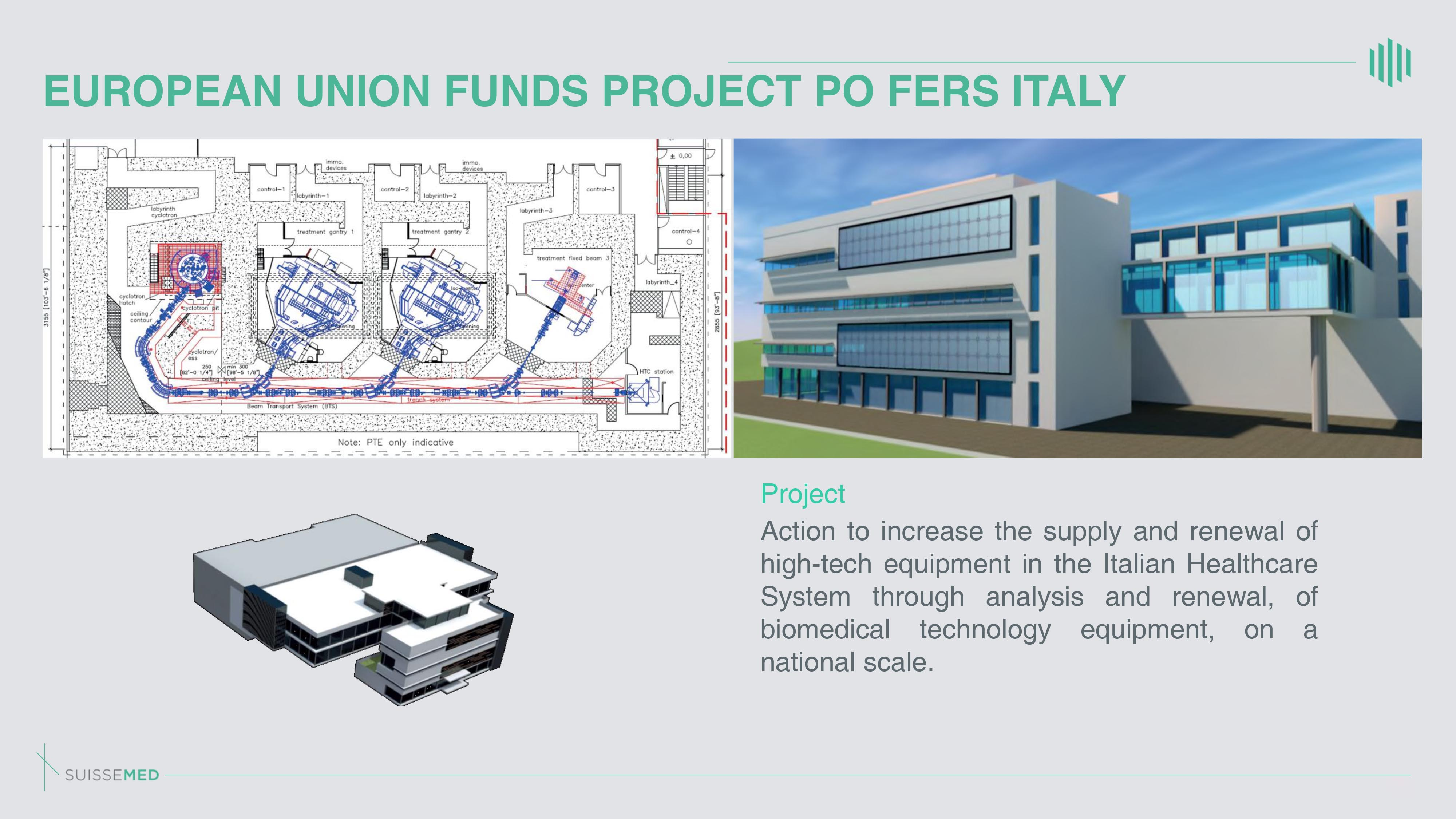EUROPEAN UNION FUNDS PROJECT PO FERS ITALY